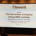 [セッションレポート]ARC308 – The Serverless Company Using AWS Lambda: Streamlining Architecture with AWS